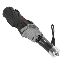 Wholesale 2pcs XT AS005 Waterproof Car Foldable Umbrella Automatic Open Close Hidden Safety Belt Cutter CEC_952