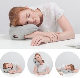 Wholesale 50pcs Magical Ostrich Pillow Mini Light Comfortable Office Nod Off Portable Napping Travelling Glove Arm Hand Pillow Cool Gift