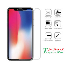 For iPhone 8 Plus iPhone X 7 6S 6 Plus Tempered Glass Screen Protector Best Price Factory Supply Top Quality 2.5D 9H Ship Out Within 1 Day