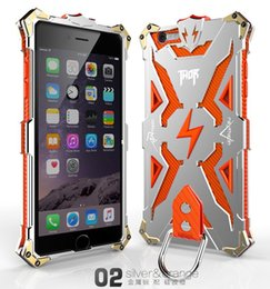 6s case New Original Design Cool Metal Aluminum Armor THOR IRONMAN protect phone cover shell case for iphone 6s 6 case 4.7inch