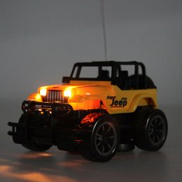 Wholesale Kids Baby Toy Children s Toys Drift Speed Radio Remote control RC Jeep Off road vehicle Headlight rc car Baby Toys Gift FCI