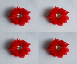 Wholesale 2015 Hot sale Kind OF style Luxury Wedding Flowers Hand Made Artifical Beaded Brooch Silk Red Flower Bride Bridal Bouquets top quality