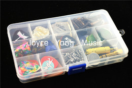 Large Transparent Plastic Picks Case Box Holder For Save Guitar Picks&Guitar Accessories Tools Free Shipping