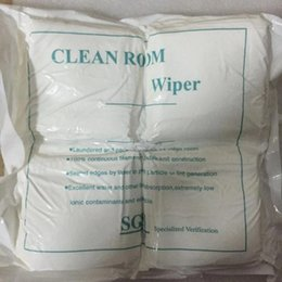 Wholesale 400pcs LCD White Cleaning Room Wiper Cloth anti static Cleaning Cloth Mobile Phone Camera