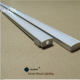 Wholesale 10set m led aluminium profile for led bar light led strip aluminum channel waterproof aluminum housing Sunny Wood YD F