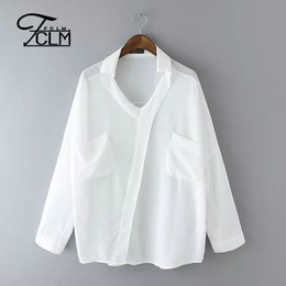 Europe&Amercia style plus size Summer blouse women blouses two pockets foldable 3 4 sleeve leisure loose shirt tops BD129