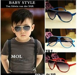 Wholesale NEW American Style Hot Sale Fashion kids sunglasses Children Sunglasses Candy Color Sunglasses baby kids glasses LJJD2007