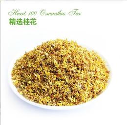 Osmanthus roi thé fleurs séchées 50g / sac de Chine Guilin fleur originale fragance 300g gros / lot à partir de thé floraison gros en chine fabricateur