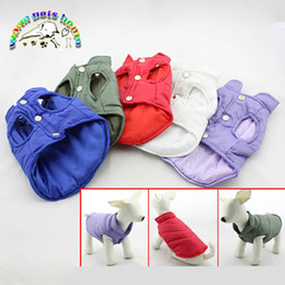Dachshunds yorkshire terrier clothing pet dog parka all for dogs cotton warm coveralls winter clothes for dogs dog winter vest LL107