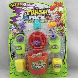Wholesale The Trash Pack Series set vats kegs doll Mini Trash Can Monster Figure Toys Children s Gift