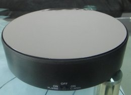 Wholesale Mirror Face Rotating Display Stand Turntable Heavy Bearable loading weight about kg ABS material new design hotsale