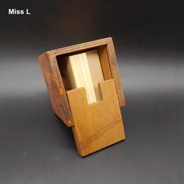 Fun Kong Ming Lock Magic Box Puzzle Four Blocks Inside Inspiration Gift Intelligence Game Tavern Toys