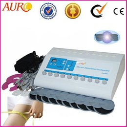 AU-800S CE approved portable ems electro physiotherapy electronic muscle stimulator price ems slimming machine for sale