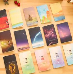 Wholesale A5 student beautiful notebook Children school mini pocketbook adult work book cm K series many styles choose