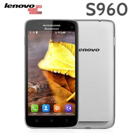 Wholesale Original Lenovo S960 Vibe X Android Phone FHD MTK6589T GHz Quad Core GB RAM GB ROM GPS Bluetooth Dual Camera MP Smartphone