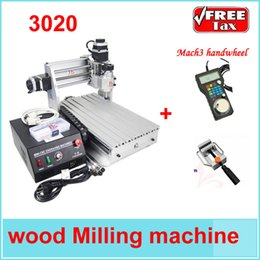 Wholesale Tax W CNC T DJ cnc milling drilling carving machine also have CNC Mach3 handwheel free gift