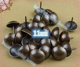 Wholesale 100pcs mm Honggu copper color iron foam nail decorative bronze drum antique sofa bubble nail pushpin bags