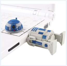 Wholesale Best price GB GB GB Star Wars R2 D2 Robot cartoon USB Flash Memory Pen Drive Stick Disk Pendrive from goodmemory