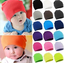 solid Toddler Infant Kids Children Soft Cute Knit Warm baby hat baby caps infant Cotton children Hats Skull Cap Toddler Boys & Girls kids Be