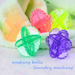 Wholesale Home Laundry Products Magic Antiwind Washing Balls Soft Useful Cleaning Ball Automatic Washing Machine Tools