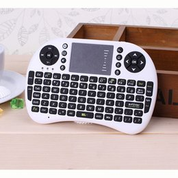 Wholesale-Free shipping Mini 2.4Ghz Wireless Keyboard Air Mouse Remote Control Touchpad For Laptop TV Box PC Tablet Mini PC