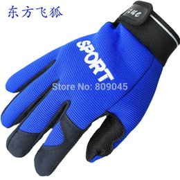 Wholesale-Winter outdoor warm women and men gloves Elastic rib fabric gloves for fitness 3pair lots GW13