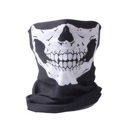 10X Balaclava Skull Bandana Helmet Neck Face Masks For Bike Motorcycle Ski Outdoor Sports Halloween Skeleton Scarf New Style