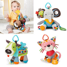 Wholesale-Free shipping children's christmas gift birthday gift animal Soft puzzle toys baby toys