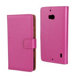 For Nokia Lumia 930 Texture Genuine Wallet Leather Case Cover
