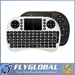 Wireless Keyboard Rii Mini i8 Air Mouse Multi-Media Player Remote Control Touchpad for Android Smart TV Box MXIII M8 MXQ MX3 Mini PC