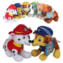 Wholesale 20cm Paw Plush Toys Patrol Figure Puppy Stuffed Soft Dolls Figure Toy Best Gifts For Kids
