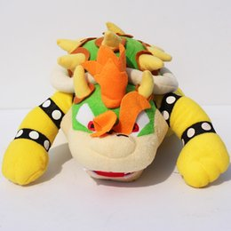 "Cute Super Mario Bros plush toy 10""25CM BOWSER Plush TOY Doll stuffed plush Toy Free Shipping"