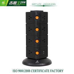 Wholesale Good Quality American Electric Socket V Extension Sockets Individual Switch Power Strip with USB A m JSW KU