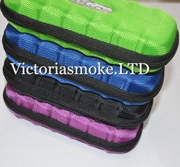 Wholesale MOQ Colorful Ego Case Ego Leather New Zipper Case Bag Electronic Cigarette Carry Bag with different colors top quality