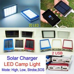 Dual USB солнечных батарей Зарядные сь света 30000mAh портативные солнечные фонари зарядное устройство Energy панель Power Bank для мобильного телефона PAD Tablet MP4 от Поставщики солнечная панель питания