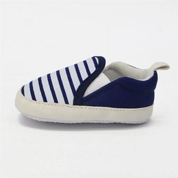 Wholesale Lazy Man Baby Shoes Striated Elastic Shallow For Years Baby Girl Boy Shoes High Quality New Design Walkers Shoes