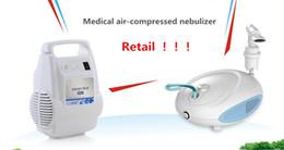 Wholesale Retail Medical Air Compressed Nebulizer Medcial Supplies Liquid Medicine Nebulized Respirator Atomizer Spray for Pediatrics Respiratory