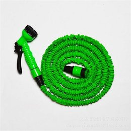 Wholesale Adjustable telescopic water hose for family garden or agriculture use hose joint blue green water gun supply