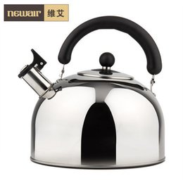 Wholesale L composite bottom stainless steel water kettle whistle creative a gas cooker general WA L FSH