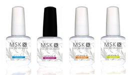 Wholesale MSK Ms Keiko Soak off Nail Gel Polish Color Base Coat and Top Coat PH Bond Nourish Oil oz