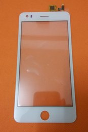 Wholesale-Original Touch Screen Digitizer glass panel For Elephone P6i Smart Phone 5'' Android 4.4.2 MTK6582 Quad Core Free shipping