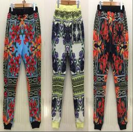 Beautiful petals print women girl joggers pants sweatpants for women's 2015 New hip hop trousers 3 color
