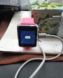 Wholesale best smartwatch smart watch iwatch Android iPhone iwatch A8 GT08 Smart SIM Intelligent phone watch time GT08 Smartwatch