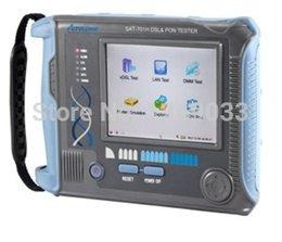 Wholesale-ADSL2+ tester & PON Tester SAT-701H FREE SHIPPING