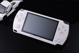 Wholesale HOT SELL GB Inch PMP Handheld Game Player MP3 MP4 MP5 Player Video FM Camera Portable Game Console