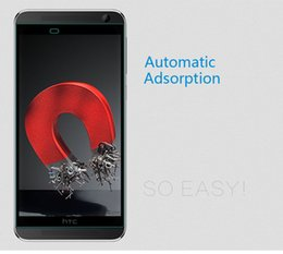 Wholesale High Quality Automatic Adhesion H Tempered Glass Screen Protector For HTC One E9 quot With Lower Price