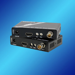 HDMI to RF Media Converter & over Coaxial Transceiver 300mtrs; HDMI Media Converter & Transceiver, High Quality, Freeshipping