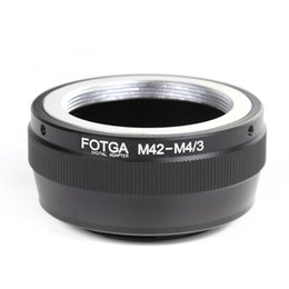 Wholesale M42 Mount Lens To Micro M4 Adapter For E P1 EP2 EPL1 GF1 GF2 G1 G2 G3 GH1