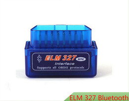 Wholesale Pieces Super Mini ELM327 Bluetooth MINI ELM327 V2 ELM OBDII OBD2 Auto Code Reader