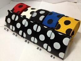 Han Edition Fashion New Canvas Belt Men And Women Leisure Belts Joker Dot Waistband 5 Colors